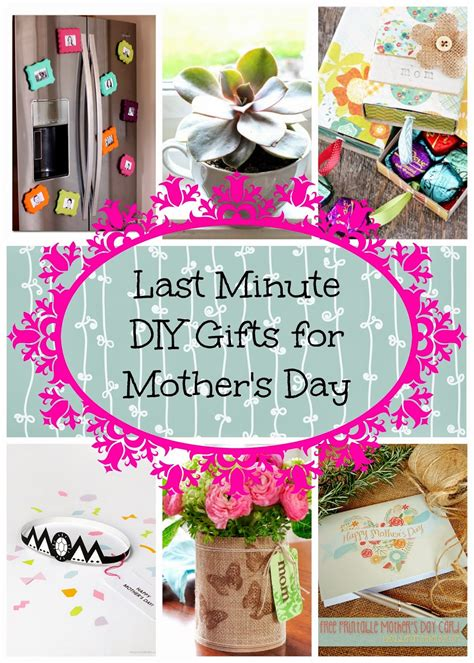 ambrosias creations diy  minute mothers day gift
