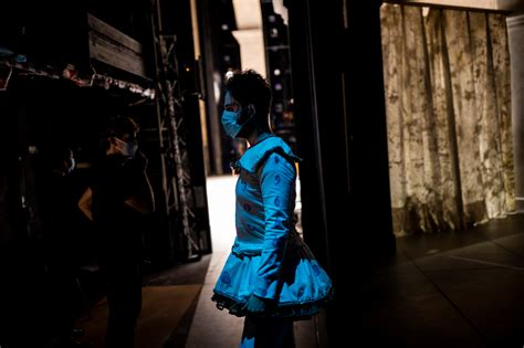 The show goes on at Madrid´s opera house despite pandemic ...