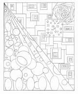 Coloring Tunnel Sheets sketch template
