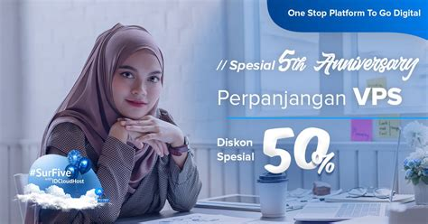 You can find some of the best vps coupons to. Promo SurrFive - Perpanjangan VPS Diskon 50% | IDCloudHost