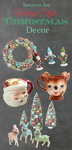 Buying Vintage Christmas Decor At The Stores - House of