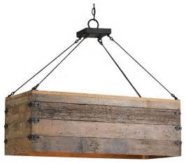 Rustic Kitchen Island Lighting Reclaimed Wood Crate Chandelier Rustic Kitchen Island Lighting Montreal By Aes Mobile