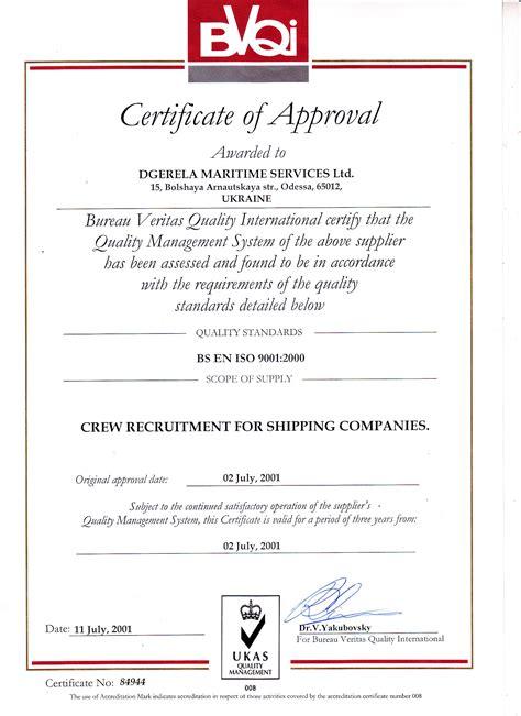 bureau veritas vacancies certification dgerela maritime services
