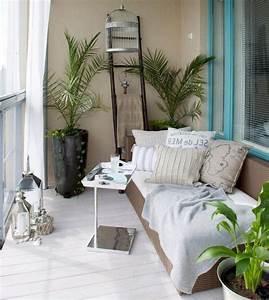 44, Cozy, Small, Apartment, Balcony, Decorating, Ideas