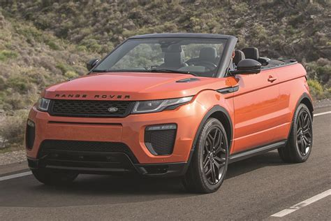 land rover suv 2017 land rover range rover evoque suv pricing features