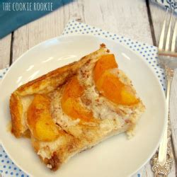 Peaches Cream Overnight French Toast The Cookie Rookie