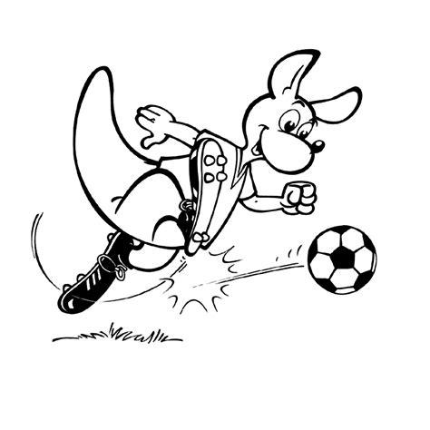 Kleurplaat Go Ingekleurd by Sport Voetbal Kleurplaten Leuk Voork
