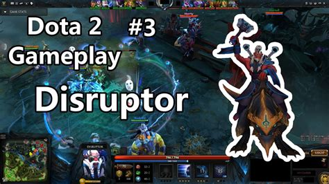 dota 2 gameplay 3 disruptor german let s play youtube