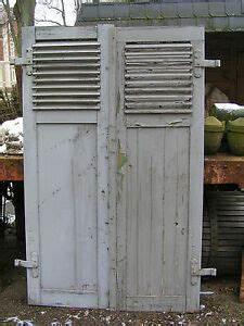Fensterläden Kaufen Preis : 1 paar alte antike fensterl den klappl den 185 cm hoch mit lamellen ebay ~ Yasmunasinghe.com Haus und Dekorationen