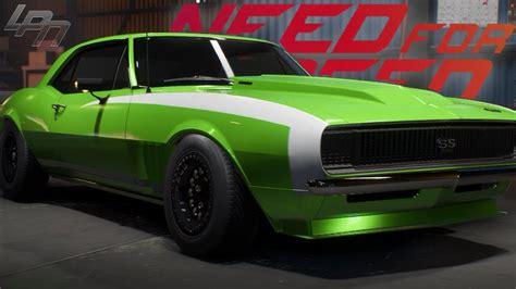 speed payback chevrolet camaro ss customization