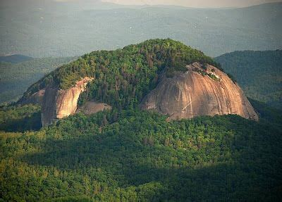 Looking Glass Rock Fabulous Granite Dome The