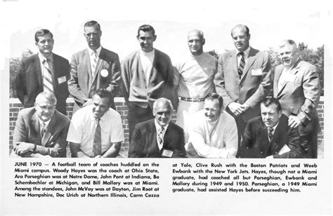cradle  coaches archive walter havighurst special collections university archives