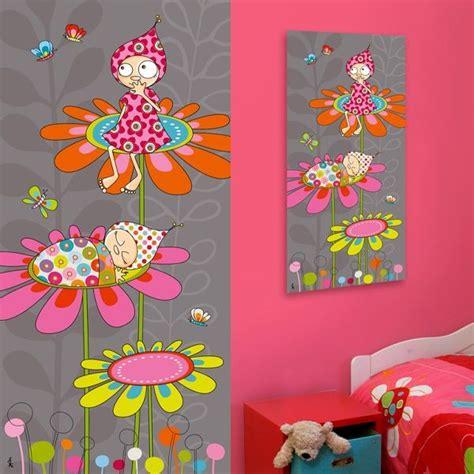 tableaux chambre b tableau peinture pour chambre bébé fille chambre idées