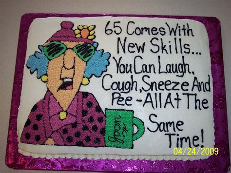 Maxine 65th Birthday Cake Ideas Pinterest