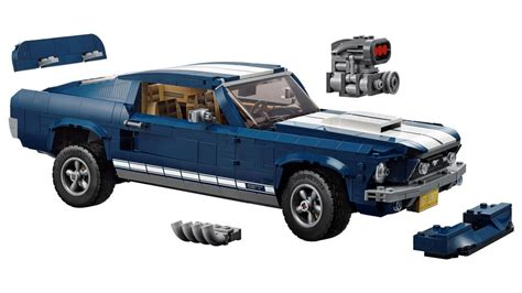 lego ford mustang lego s new ford mustang features a supercharger and