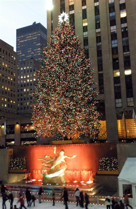New York City Christmas Tree By Moeoeop On Deviantart