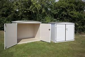 Abri De Jardin En Pvc : accessoires coffre jardin mobil home home loisirs ~ Edinachiropracticcenter.com Idées de Décoration