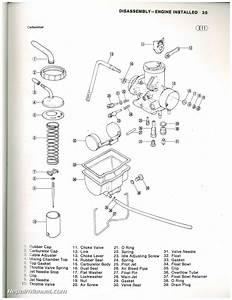 Used 1981 Kawasaki Klt200 Atc Three Wheeler Service Manual