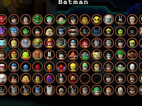 lego batman   gotham  characters unlocked