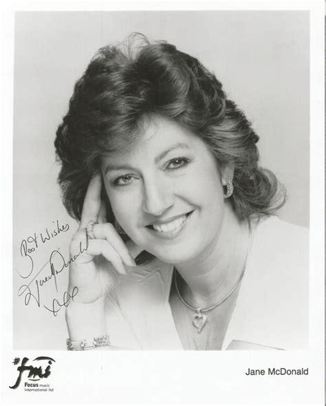 Sold Price: Jane McDonald signed 10x8 b/w photo. English ...