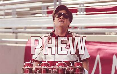 Phew Relieved Pepper Dr Relief Gifs College