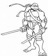 Coloriage Ninja Solitaire Tortue Dessin sketch template