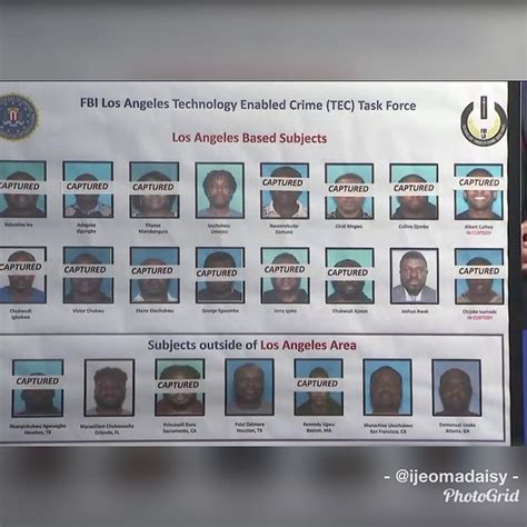 Video Fbi Arrest Nigerians The Usa For Wire Fraud