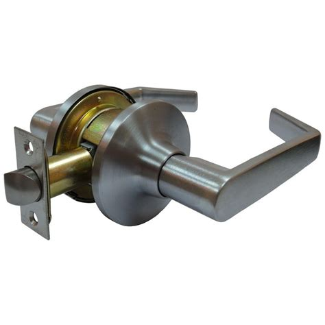 arctek satin chrome tubular calypso passage closet door lever l3s3c the home depot