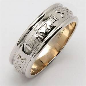 irish wedding ring men39s wide sterling silver corrib With mens claddagh wedding rings