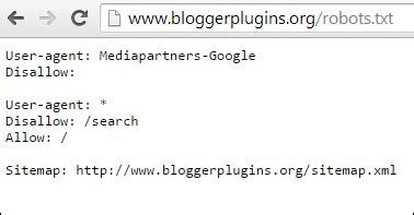 Xml Sitemap For Blogger Widgets