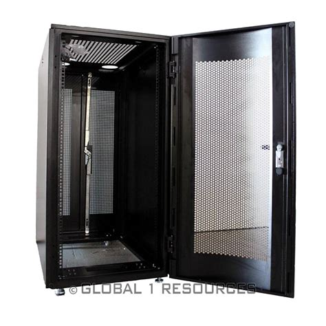 new 24u universal server rack enclosure dell servers