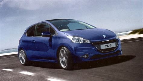 Peugeot 208 Modification by Peugeot 208 Vti Best Photos And Information Of Modification