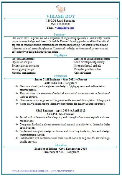 sle resume for civil engineer doc costa sol real