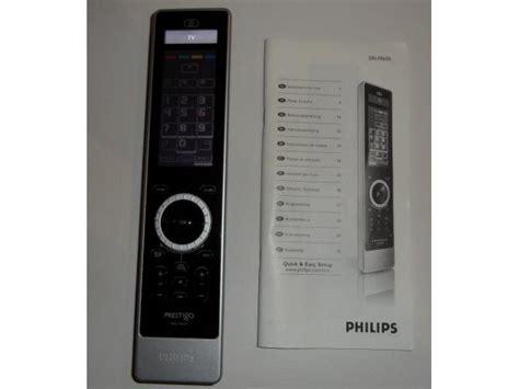 philips prestigo sru9600 t 233 l 233 commande universelle