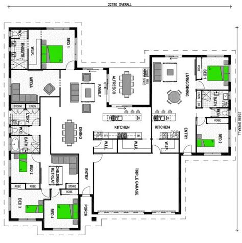 one house plans with two master suites flats stroud homes country retreat