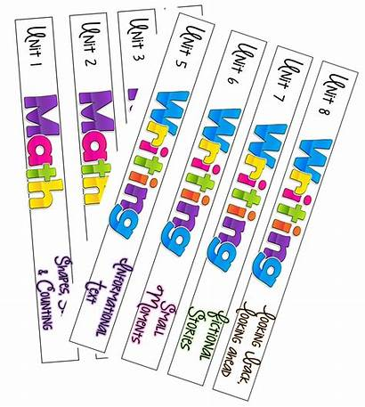 Binder Spine Labels Binders Label Class Mrs