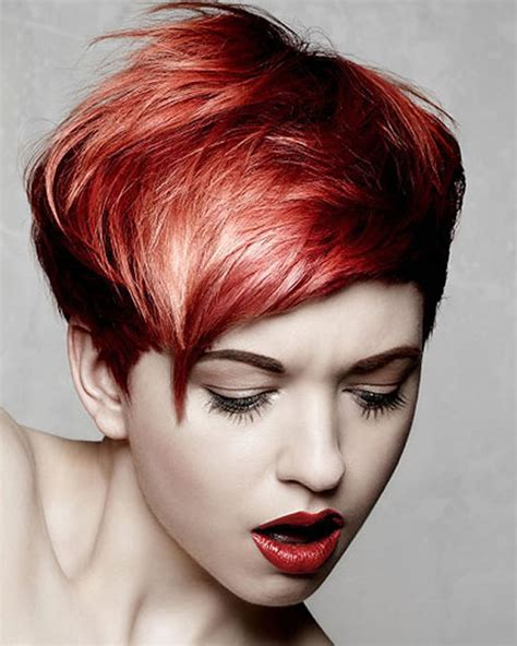 2018 Red Hairstyles   Red Short Hair Ideas & Colours for