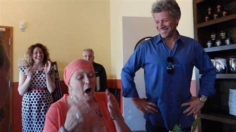 Jon Bon Jovi Surprises Fan Battling Stage Four Cancer