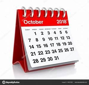 Kalender 18 19 : october 2018 calendar stock photo klenger 156937698 ~ Jslefanu.com Haus und Dekorationen