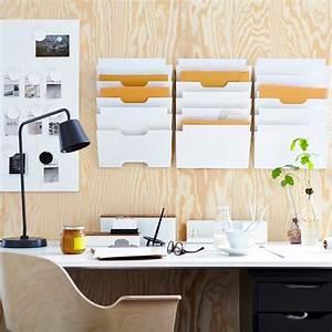 Rangement Papier Bureau : rangements malins toutpourlesfemmes ~ Farleysfitness.com Idées de Décoration