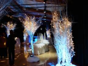 winter themed wedding decor greenscape design decor