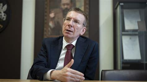 Ārlietu ministrs Edgars Rinkēvičs: Es nezinu, vai ...