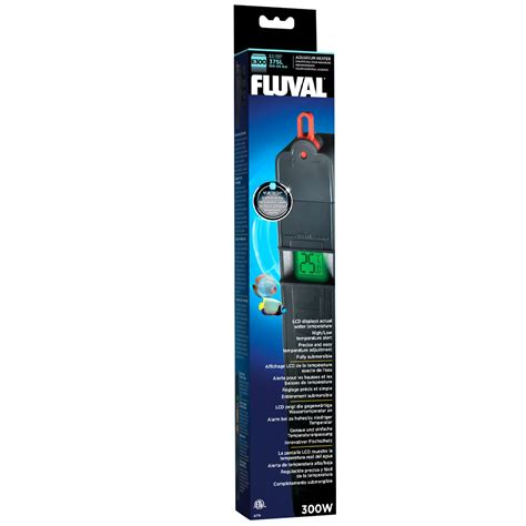 fluval advance electronic aquarium heater 300 watt