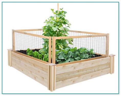 greenes fence raised beds types of deck railings
