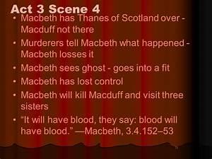 Macbeth Good Vs... Macbeth Scene Quotes