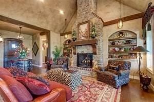 idee deco salon aux couleurs energisantes pour doper l With tapis ethnique avec tissu pour fauteuils canapés