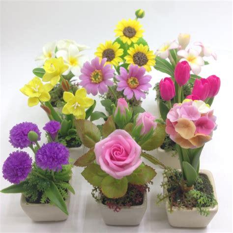 ดอกไม้จิ๋ว ดินญี่ปุ่น | Shopee Thailand