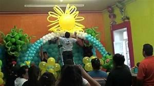 exito curso decoracion con globos febrero 2013