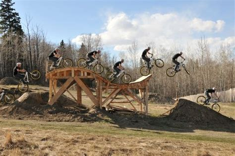 dirtjump wooden table  jump dirt landing pinkbike forum