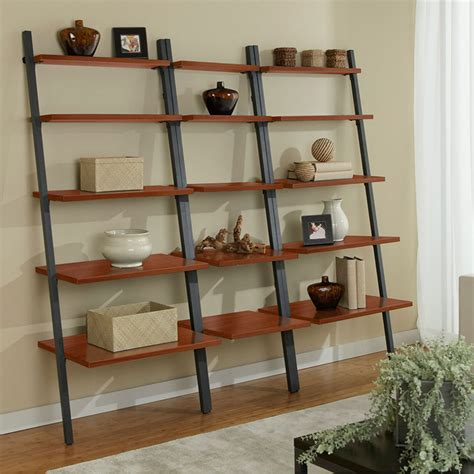 Metal Leaning Bookcase by Modern Narrow Leaning Bookcase Eurway Modern